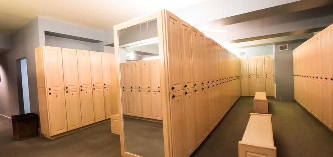 Locker Rooms | New Orleans Athletic Club